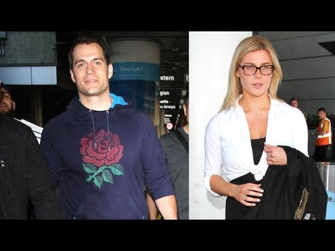 Henry Cavill And His 19-Year Old Girlfriend Arrive At LAX