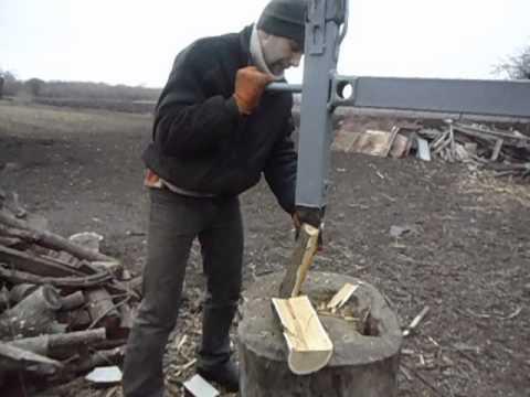 Колун дров своими руками