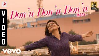 Maas - Don'u Don'u Don'u Video | Dhanush, Kajal | Anirudh