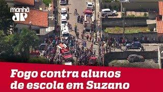 Adolescentes abrem fogo contra alunos de escola em Suzano; PM confirma 8 mortos