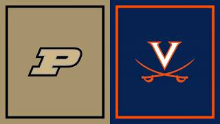 First Half Highlights: Virginia at Purdue | B1G Basketball