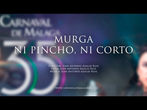 """Carnaval de Málaga 2015 Murga """"Ni pincho, ni corto"""" Semifinales"""