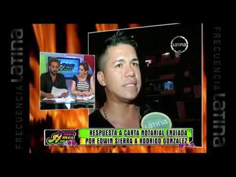 Rodrigo González respondió carta notarial enviada por Edwin Sierra en vivo