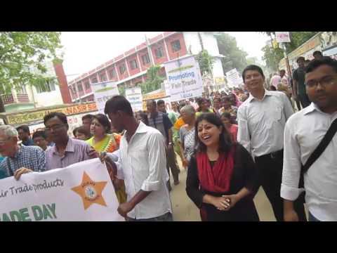 Rally on World Fair Trade Day 2015, Dhaka , Bangladesh