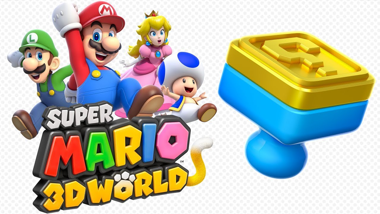 Super Mario 3D World - All Stamp Locations! 100%! - YouTube