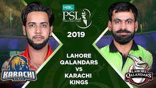 Match 5: Full Match Highlights Lahore Qalandars vs Karachi Kings | HBL PSL 4 | 2019