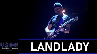 U2 plays LANDLADY for the first time! (LIVE FROM MILAN 2018 - MULTICAM HD)