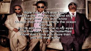 Boyz II Men Video - Boyz II Men - More Than You'll Ever Know (feat. Charlie Wilson) with lyrics