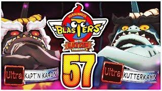 YO-KAI WATCH BLASTERS Rote Katzen Kommando Part 57: Käpt'n Karon & Kutterkahn auf ULTRA