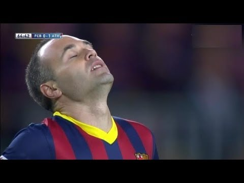 Barcelona vs  Athletic Bilbao (2-1) All Goals & Highlights 20.04.2014