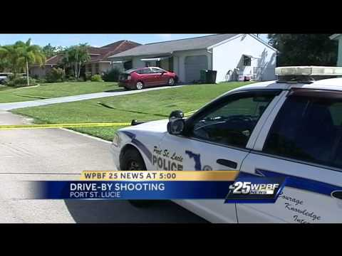 Shots fired at home in Port St. Lucie