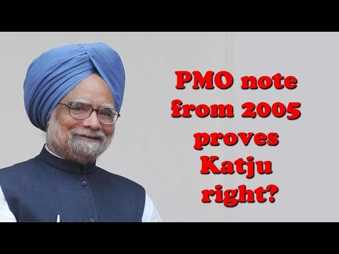 Is Manmohan Singh directly in line of fire in Katju accusation?