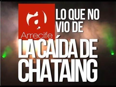 lo que no vio de la caída de Luis Chataing