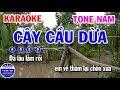 Karaoke Cây Cầu Dừa   Nhạc Sống Tone Nam   Karaoke Tuấn Cò thumbnail