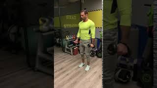 flexii biceps gantere alternativ
