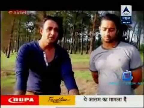 SBS August 3rd 2014 - Shaheer Sheikh & Saurabh Raaj Jain celebrating...