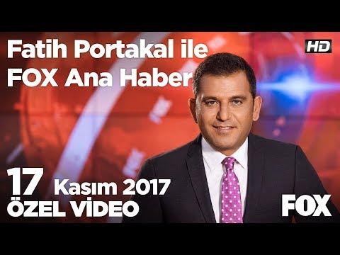 Erdoğan'dan Bahçeli'ye ittifak yanıtı! 17 Kasım 2017 Fatih Portakal ile FOX Ana Haber