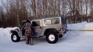 Hummer H1 VS Dodge Ram. Part 2
