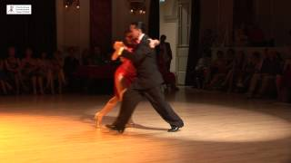2015 Gisela and Gustavo dance tango to No Mientas at Cheltenham International Tango Festival