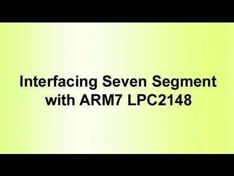 Arm7 Lpc2148 Segment With Arm7 Lpc2148
