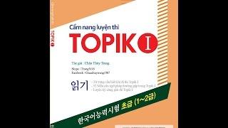 Bài 1 - 50 Mẫu câu ngữ pháp - Luyện thi Topik 1 với Châu Thùy Trang