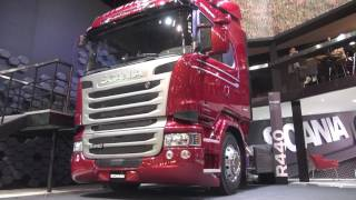 SCANIA V8 DE 620 CV EN EL SALÓN DE BS.AS. 2017
