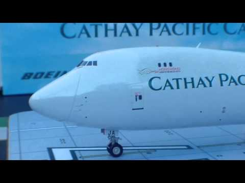 JC Wings 200 Cathay Pacific Cargo B747-8F(Hong Kong Trader Livery)Review