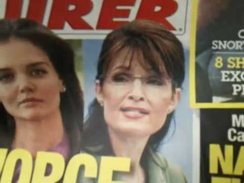 Sarah Palin nude photo scandal — National Enquirer