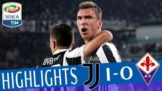 Juventus - Fiorentina 1-0 - Highlights - Giornata 5 - Serie A TIM 2017/18