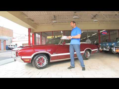 1972 Oldsmobile Cutlass 442 Convertible FOR SALE Video