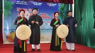 KHÁCH ĐẾN CHƠI NHÀ - Quang Thọ, Tùy Phan, Mạnh Hải, Minh Lý [ Quan họ Bắc Ninh]
