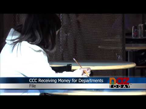 Coconino Community College Receiving Money for Departments