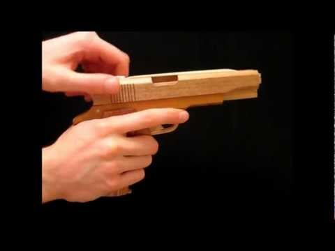 [rubber band gun] Prototype M1911