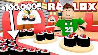 ¡¡ +100.000 SUSHI CHALLENGE en ROBLOX !!