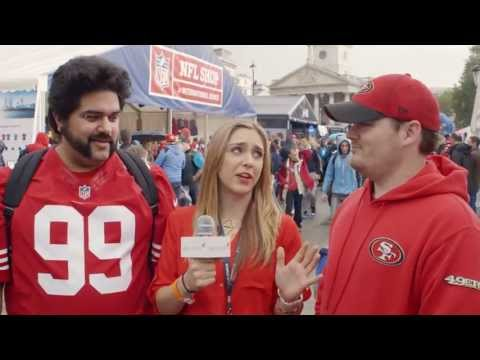 NFL International Series Fan Rally - London #RedHotReporter