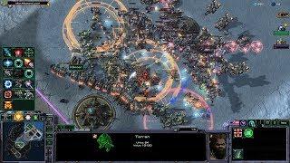 Starcraft 2 - Arcade - Direct Strike - 3vs3 - Terran - #184