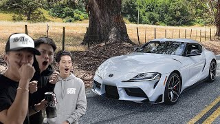 Surprising my Friends with the 2020 GR Supra!