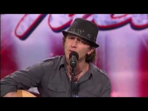 "Michael Grimm ~ America's Got Talent Winner 2010  First  LA Audition ""You Don't Know Me"""