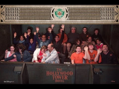 Tower of Terror, Disney-MGM Studios, Orlando Video