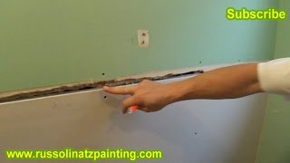 Bathroom Renovation- Drywall Taping- 1st and 2nd coat (Part 1)