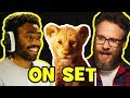 Behind The Scenes On THE LION KING   Voice Cast Songs, Clips & Bloopers