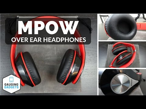 Mpow Bluetooth Headphones Review - Foldable Over Ear Headset