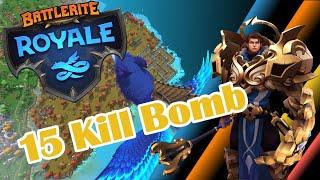 Battlerite Royale 15 Kill Bomber