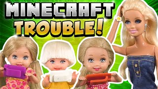 Barbie - Trouble in Minecraft | Ep.211