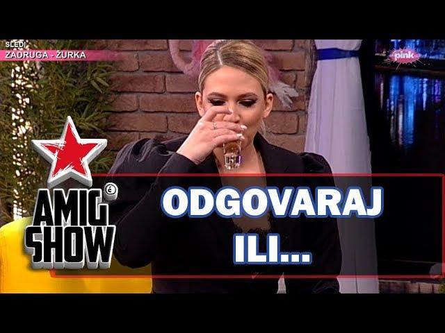 Odgovaraj ili... - Milica TodoroviД Ami G Show S12
