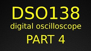 DSO138 Digital Oscilloscope - Part 4 - Replacing The Faulty Display