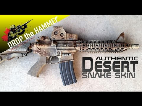 How to Paint your Marker like a Pro! Tiberius T15 Desert Snake Skin