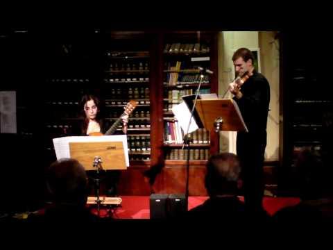 Mauro Giuliani - 6 variaciones para violín y guitarra Op.82