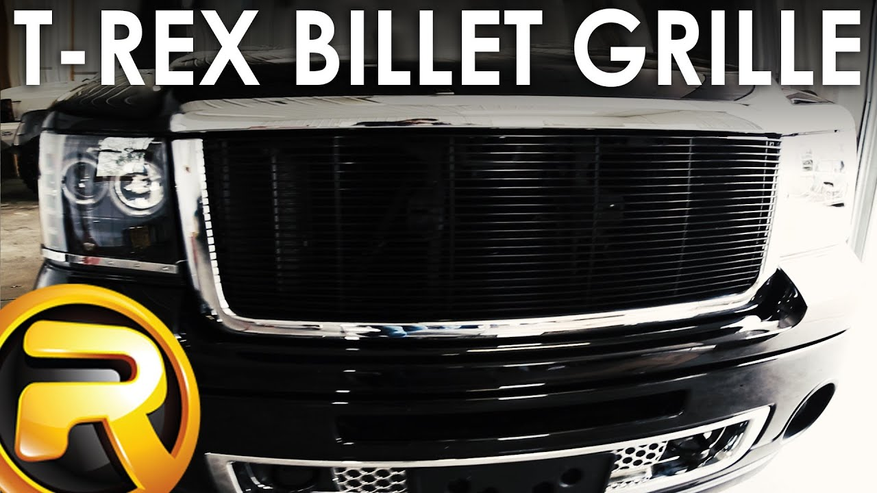 How To Install a T-Rex Billet Grille - YouTube