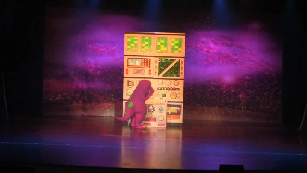 Barney Space Adventure 001